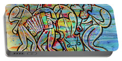 Jewish-funk Klezmer Music Portable Battery Charger