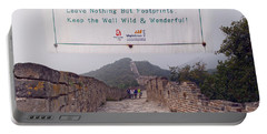 Jiankou To Mutianyu Leave Nothing Portable Battery Charger