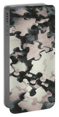 Jigsaws Of Double Exposure Portable Battery Charger