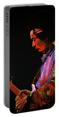 Jimi Hendrix 4 Portable Battery Charger