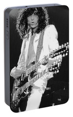 Jimm Page - Led Zeppelin Portable Battery Charger by Daniel Hagerman