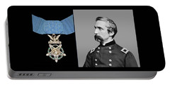 J.l. Chamberlain And The Medal Of Honor Portable Battery Charger