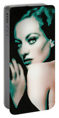 Joan Crawford - Pop Art Portable Battery Charger