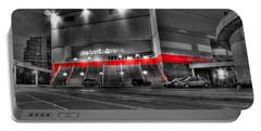 Joe Louis Arena Detroit Mi Portable Battery Charger by Nicholas  Grunas