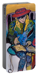 Joelle Reading The Scriptures Portable Battery Charger