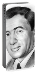 Joey Bishop Portable Battery Charger by Greg Joens