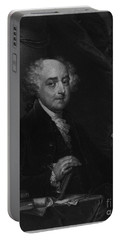 John Adams Second Potus Portable Battery Charger