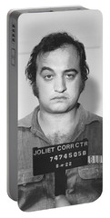 John Belushi Mug Shot For Film Vertical Portable Battery Charger
