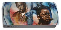 Blaa Kattproduksjoner     John Coltrane - Jazzed  Portable Battery Charger