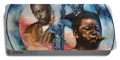 John Coltrane - Jazz Portable Battery Charger
