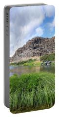 John Day River Landscape In Summer Portrait Portable Battery Charger
