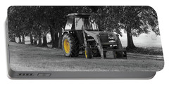 Portable Battery Charger featuring the photograph John Deere 620 In Selective Color by Doug Camara