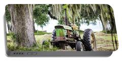 John Deere - Hay Day Portable Battery Charger by Scott Hansen