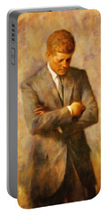 John Fitzgerald Kennedy Portable Battery Charger