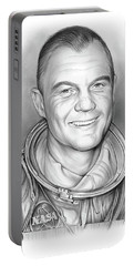 John Glenn - Bw Portable Battery Charger