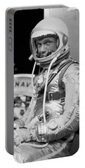 John Glenn Wearing A Space Suit Portable Battery Charger