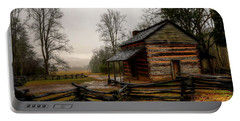 John Oliver's Cabin In Cades Cove Portable Battery Charger