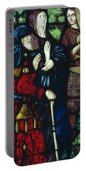 John The Baptist Takes Leave Of His Parents Portable Battery Charger