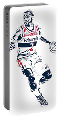 John Wall Washington Wizards Pixel Art 1 Portable Battery Charger