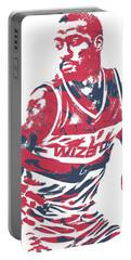 John Wall Washington Wizards Pixel Art 15 Portable Battery Charger
