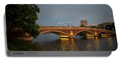 John Weeks Bridge Harvard Square Chales River Sunset Trees 2 Portable Battery Charger