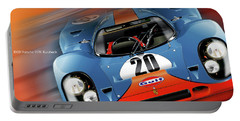 John Wyer's Gulf Porsche 917 Portable Battery Charger