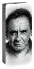 Johnny Cash Portable Battery Charger