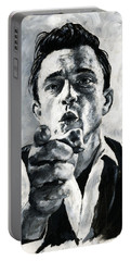 Johnny Cash II Portable Battery Charger