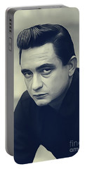 Johnny Cash, Music Legend Portable Battery Charger
