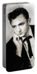 Johnny Cash, Singer/songwriter Portable Battery Charger