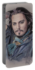Johnny Depp Portable Battery Charger