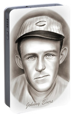 Johnny Evers Portable Battery Charger by Greg Joens