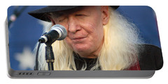 Johnny Winter Portable Battery Charger