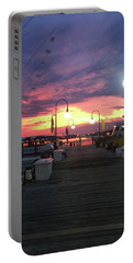 John's Daughter's Talbot St Pier Sunset Portable Battery Charger