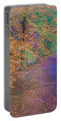 John's Pond In The Fall Portable Battery Charger