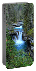 Johnston Canyon Falls Hike Lower Falls Portable Battery Charger