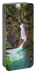 Johnston Canyon - Lower Waterfall Portable Battery Charger
