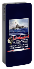 Join The Us Navy - Ww2 Portable Battery Charger