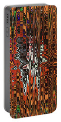Jojo Abstract Portable Battery Charger by Tom Janca