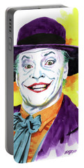 Jokernicholson Portable Battery Charger by Ken Meyer jr