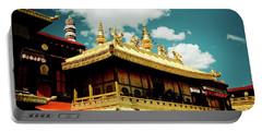 Jokhang Temple Fragment  Lhasa Tibet Artmif.lv Portable Battery Charger