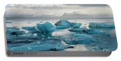 Jokulsarlon, The Glacier Lagoon, Iceland 6 Portable Battery Charger