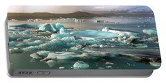 Jokulsarlon The Magnificent Glacier Lagoon, Iceland Portable Battery Charger