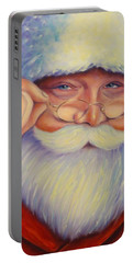 Jolly Old Saint Nick Portable Battery Charger