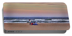 Jones Beach In January Portable Battery Charger