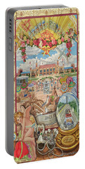 Jones Beach Love Story Towel Version Portable Battery Charger