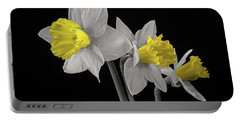 Jonquils Portable Battery Charger by Don Spenner