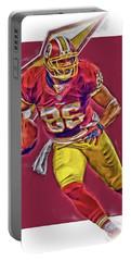 Jordan Reed Washington Redskins Oil Art Portable Battery Charger