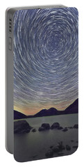 Jordon Pond Star Trails Portable Battery Charger