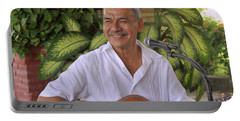 Portable Battery Charger featuring the photograph Jose Luis Cobo by Jim Walls PhotoArtist